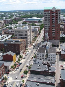 New Hampshire - Picture of Manchester Down Town