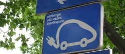 Sign: recharging station for electric cars