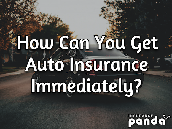 How Can You Get Auto Insurance Immediately