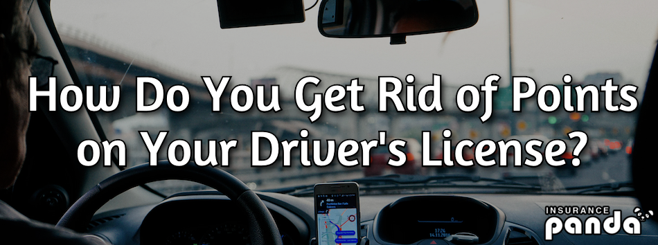 How Do You Get Rid of Points on Your Driver's License?