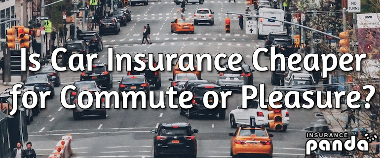 Is Car Insurance Cheaper for Commute or Pleasure?