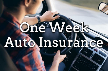 one week auto insurance