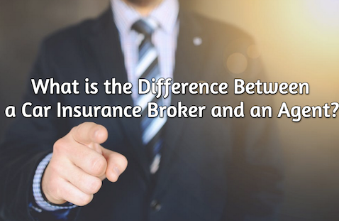 difference between car insurance agent and broker