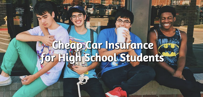 cheap insurance rates for high school students