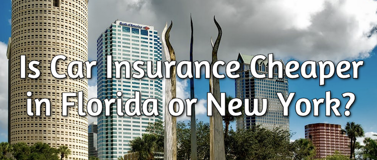 auto insurance cheaper in florida or new york