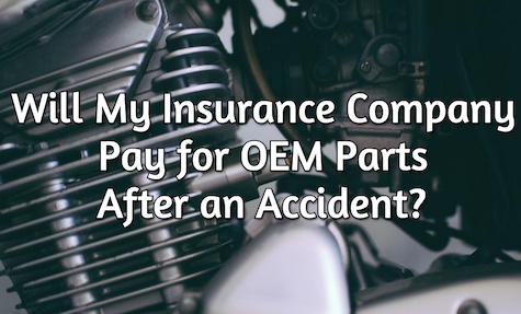 will insurance pay for oem parts