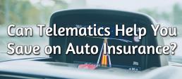 telematics discounts car insurance