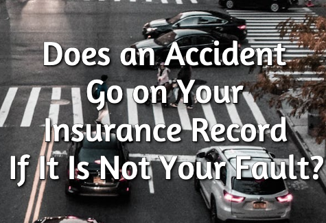 accident go on record if not your fault