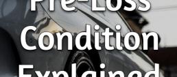 pre-loss condition