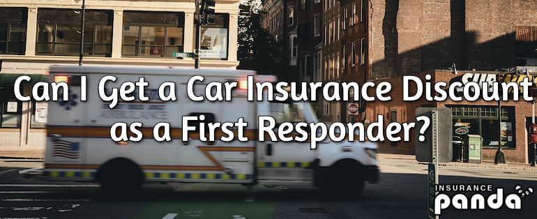 Can I Get a Car Insurance Discount as a First Responder?