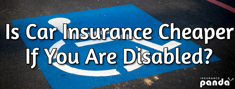 Is Car Insurance Cheaper If You Are Disabled?