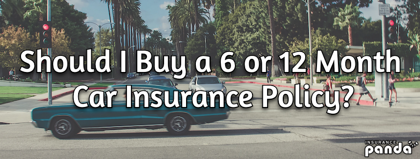 Should I Buy a 6 or 12 Month Car Insurance Policy?
