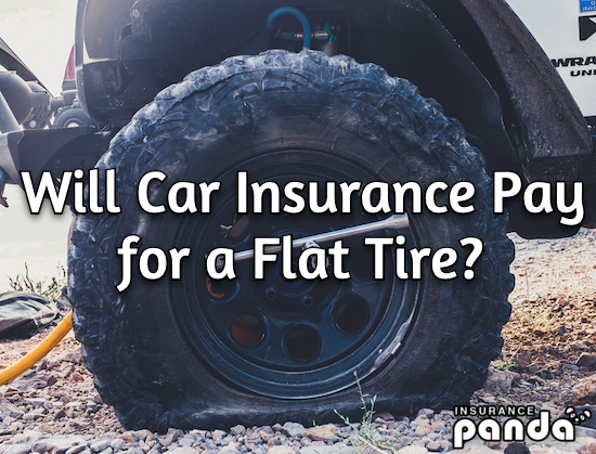 Will Car Insurance Pay for a Flat Tire?