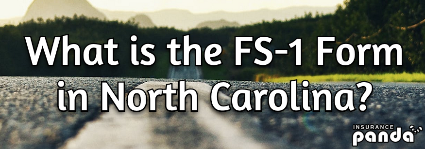 What is the FS-1 Form in North Carolina?
