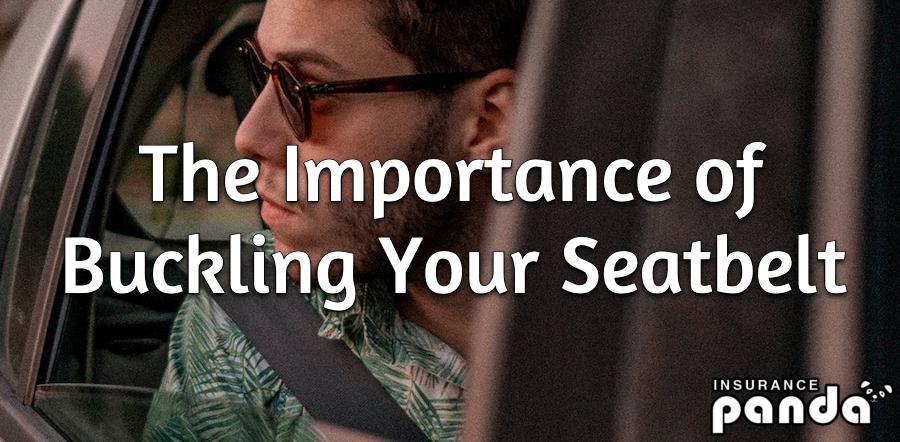 buckling your seatbelt