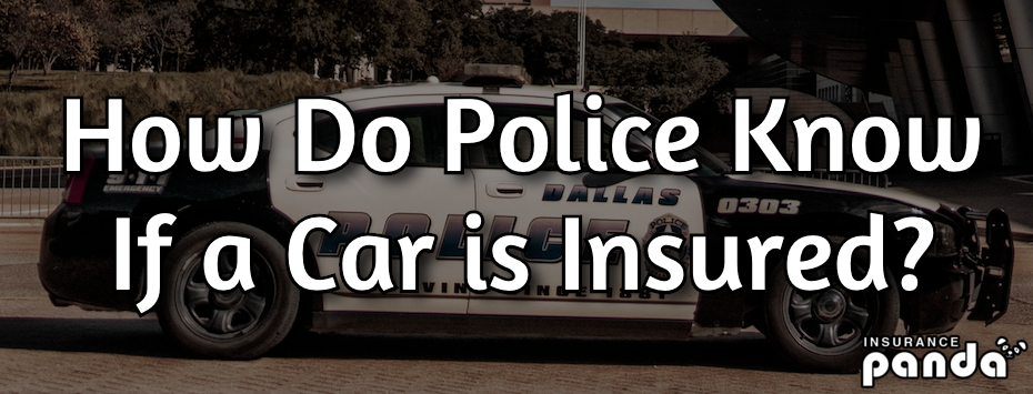 How Do Police Know If a Car is Insured?