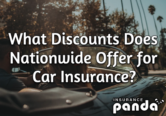 nationwide car insurance discounts