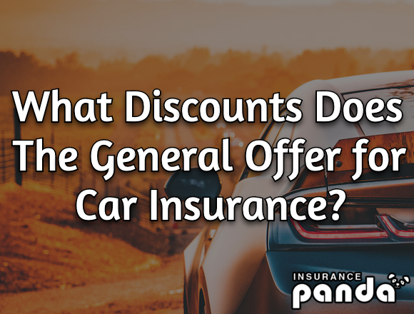 The General car insurance discounts