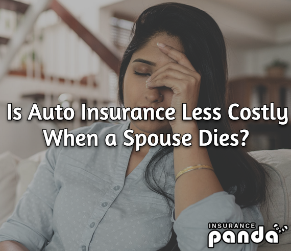 Is Auto Insurance Less Costly When a Spouse Dies