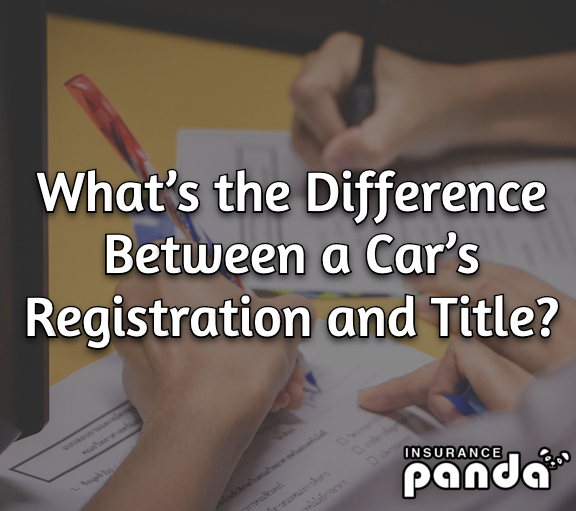 What's the Difference Between a Car's Registration and Title?