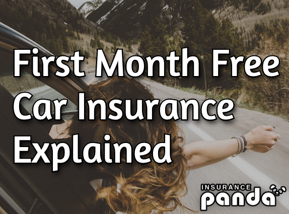 first month free auto insurance
