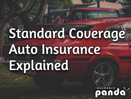 standard coverage auto insurance