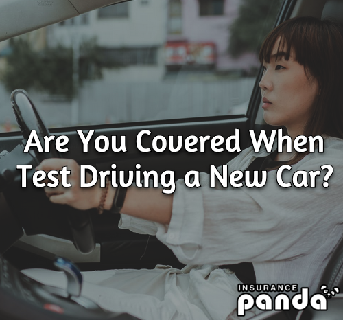 Are You Covered When Test Driving a New Car?