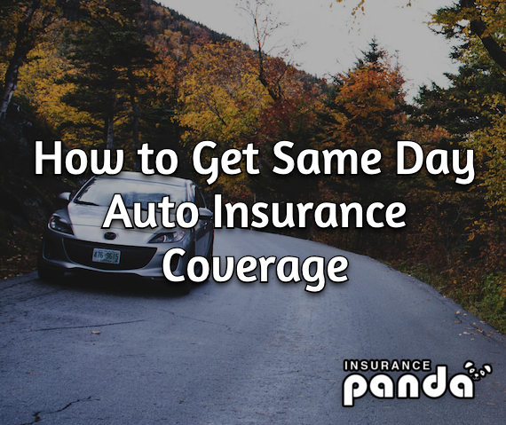How to Get Same Day Auto Insurance