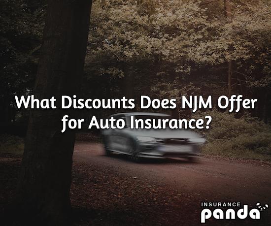 NJM auto insurance discounts