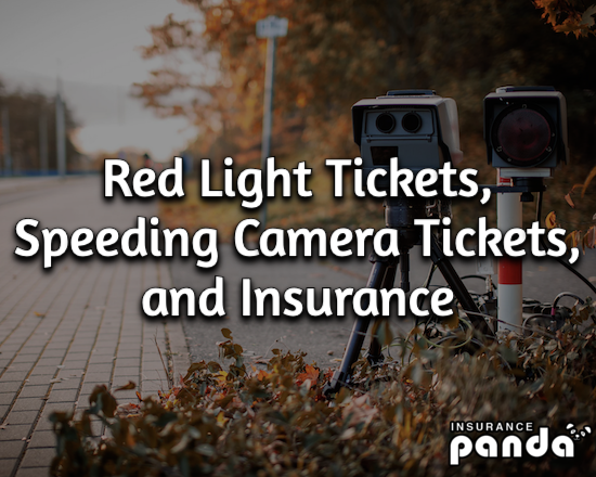 How Red Light Tickets and Speeding Camera Tickets Affect Insurance