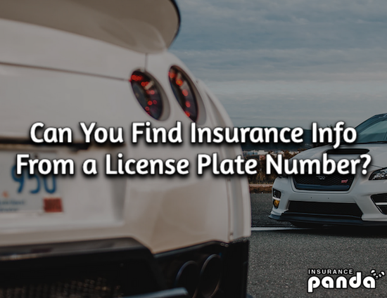 Can You Find Insurance Info From a License Plate Number?