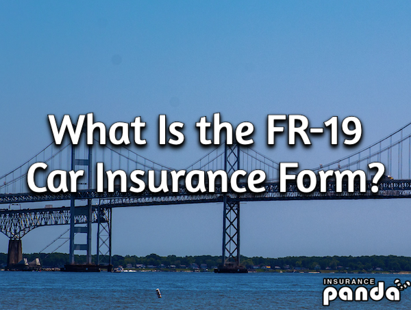 What Is the FR-19 Car Insurance Form?