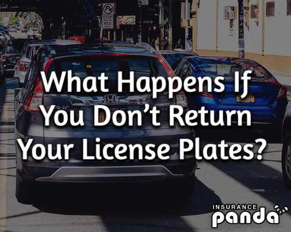 What Happens If You Don't Return License Plates?