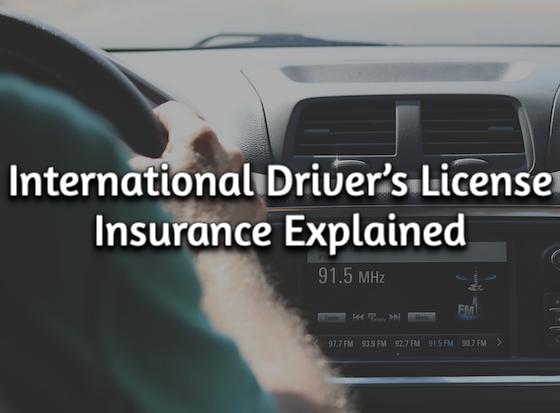 International Driver's License Insurance